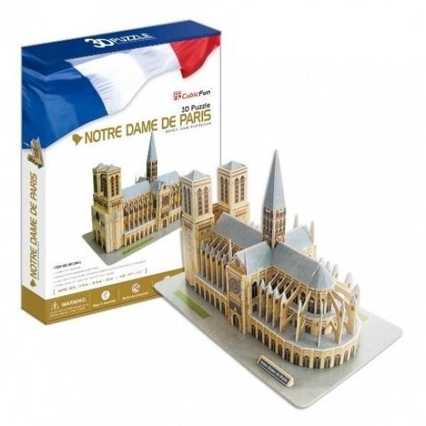Объемный 3D пазл CubicFun Нотр-Дам де Пари (Франция)