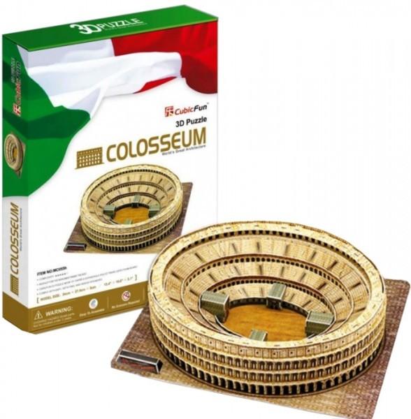 Купить Объемный 3D пазл CubicFun Колизей в Италии в интернет магазине игрушек и детских товаров