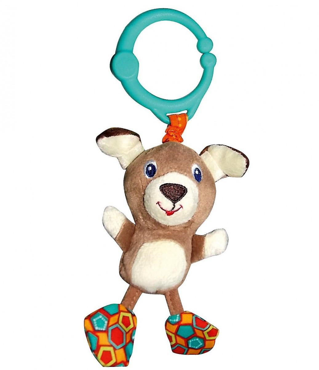 Развивающая игрушка Bright Starts 8808-5 Дрожащий дружок - Собачка