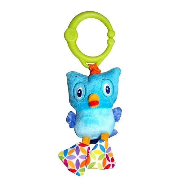 Развивающая игрушка Bright Starts 8808-6 Дрожащий дружок - Сова