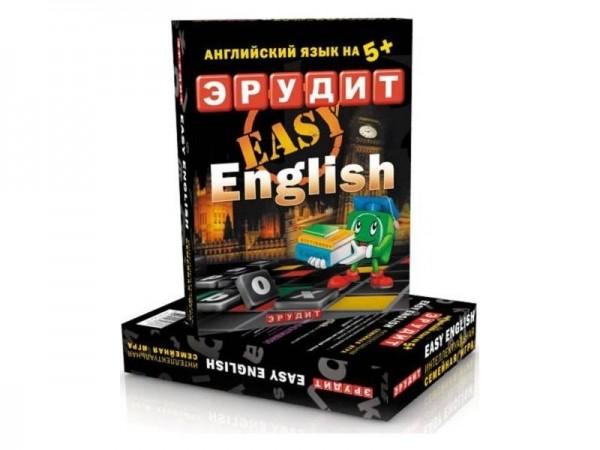 Настольная игра Биплант 10007 Эрудит easy english (подарочный)