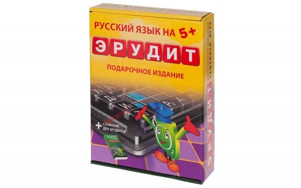 Настольная игра Биплант 10008 Эрудит (подарочный набор)