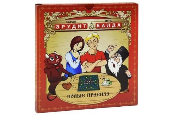 Настольная игра Биплант 10016 Эрудит-балда