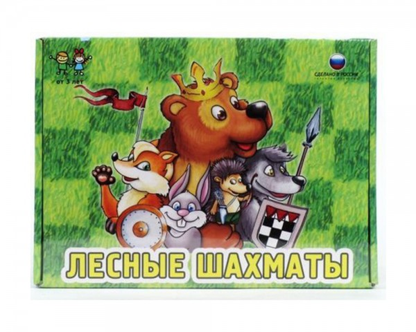 Настольная игра Биплант 10035 Лесные шахматы