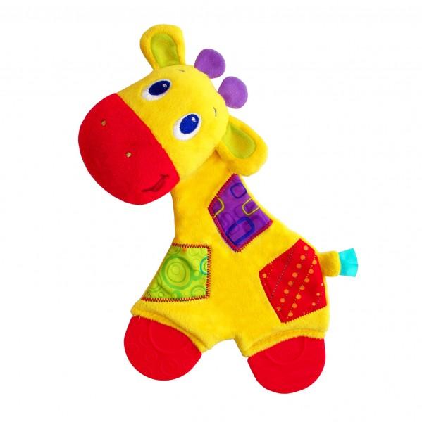 Развивающая игрушка Bright Starts 8916-3 Самый мягкий друг с прорезывателями - Жираф
