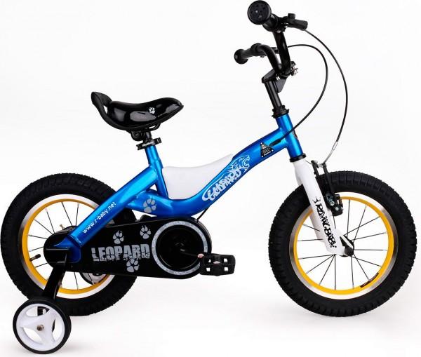 Детский велосипед Royal Baby Leopard Steel - 16 дюймов