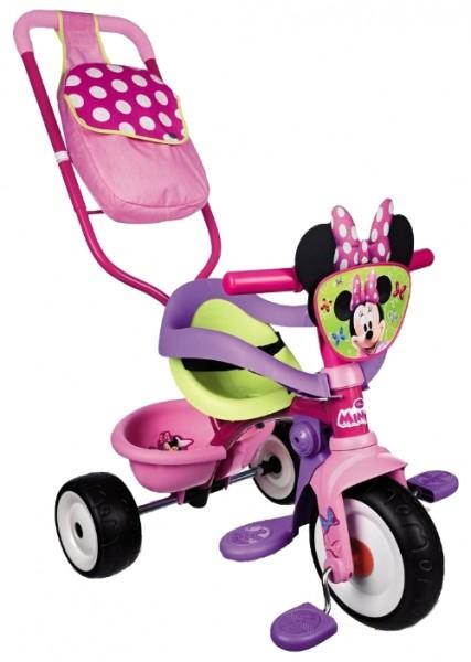 Купить Детский трехколесный велосипед Smoby Minnie Mouse Be Move Pink Confort в интернет магазине игрушек и детских товаров