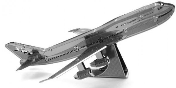 Сборная металлическая модель Metalworks Коммерческий реактивный самолет