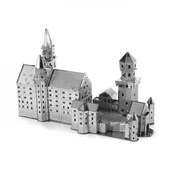 Сборная металлическая модель Metalworks MMS018 Замок Нойшванштайн