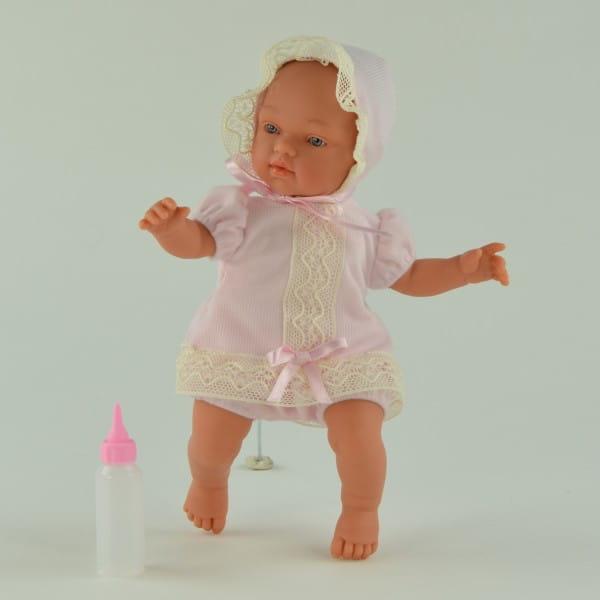 Кукла-пупс Asi 413270 Гугу - 27 см (в розовом костюмчике и чепчике)