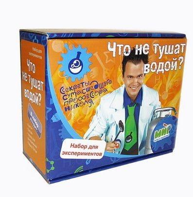 Купить Набор Юный химик Почему горящий бензин не тушат водой? в интернет магазине игрушек и детских товаров