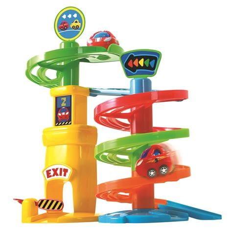 Купить Развивающий центр PlayGo Игровая парковка - 1 уровень в интернет магазине игрушек и детских товаров