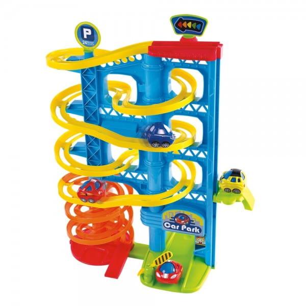 Купить Развивающий центр PlayGo Игровая парковка - 3 уровня в интернет магазине игрушек и детских товаров