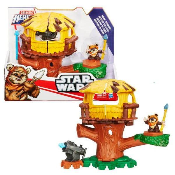Игровой набор Звездные войны Star Wars Приключение Планета Эндор (Hasbro)