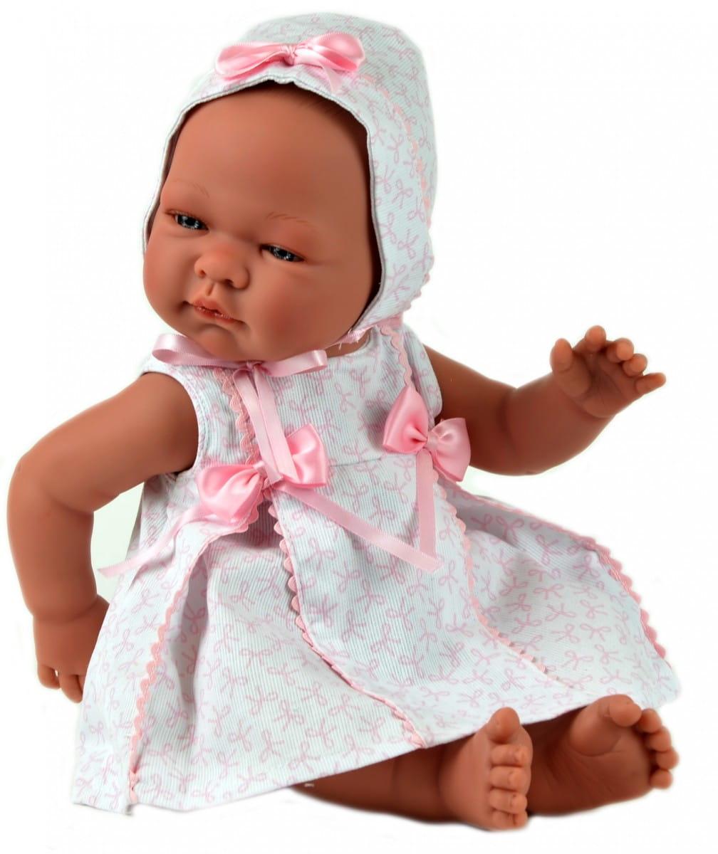 Кукла-пупс Asi 362950 Мария - 45 см (в розовом платье и чепчике, с пустышкой)