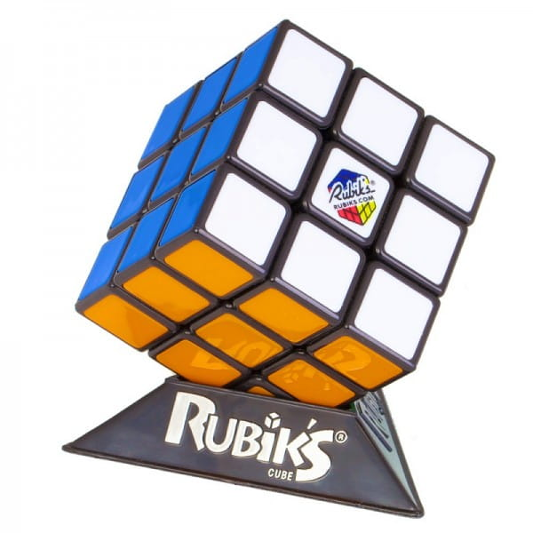 Кубик Рубика RUBIKS Рубикс 3х3 (без наклеек, мягкий механизм)