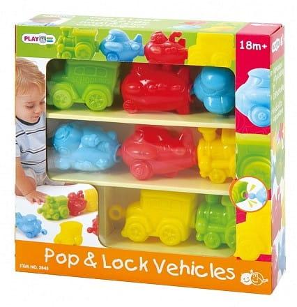 Игровой набор PlayGo Транспортые игрушки