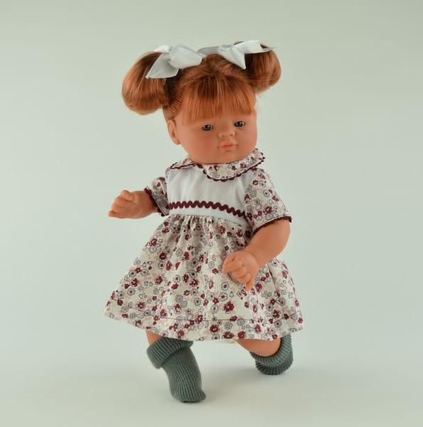 Кукла-пупс Asi 243240 Джулия - 36 см (в цветном платье)