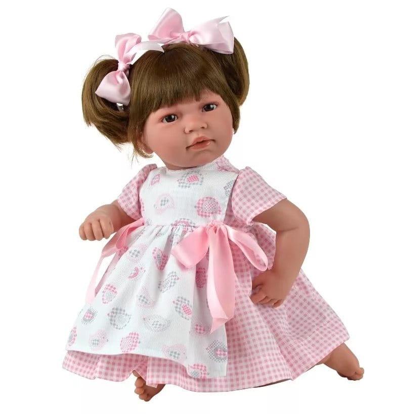 Кукла-пупс Asi Нора - 50 см (в нарядном розовом платье)