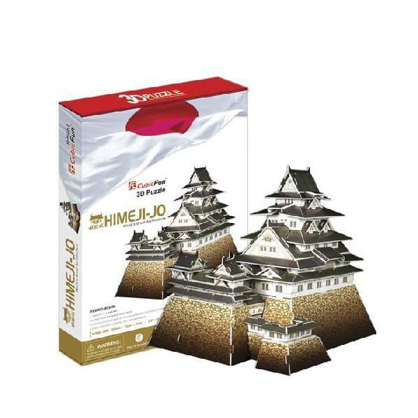 Купить Объемный 3D пазл CubicFun Замок Химедзи (Япония) в интернет магазине игрушек и детских товаров