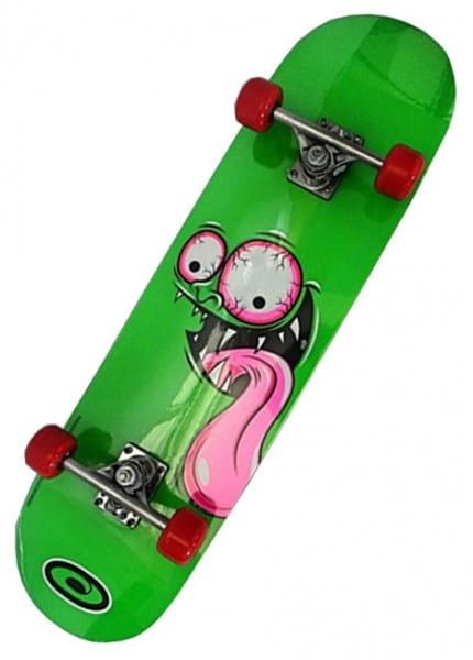 Купить Скейтборд Skull Graffiti Tongue 31 в интернет магазине игрушек и детских товаров