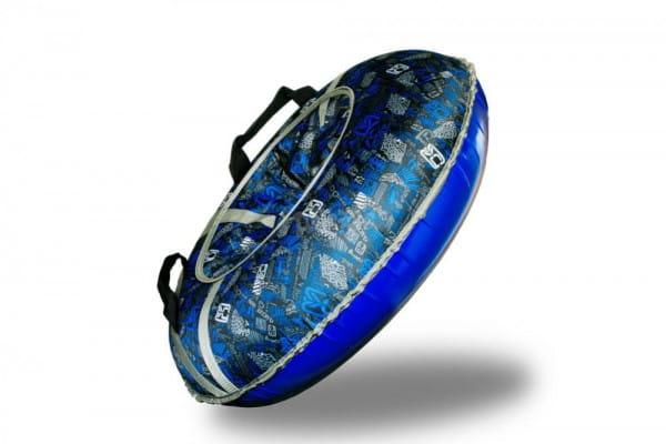 Купить Ватрушка-тюбинг Туба-Дуба Т-80 - синий 2 в интернет магазине игрушек и детских товаров