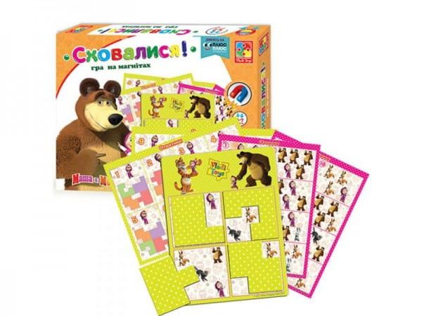 Настольная игра Vladi Toys VT3304-09 Маша и медведь - Спрятались