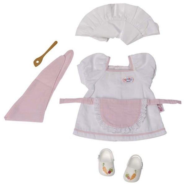Купить Одежда шеф-повара для куклы-девочки Baby born (Zapf Creation) в интернет магазине игрушек и детских товаров