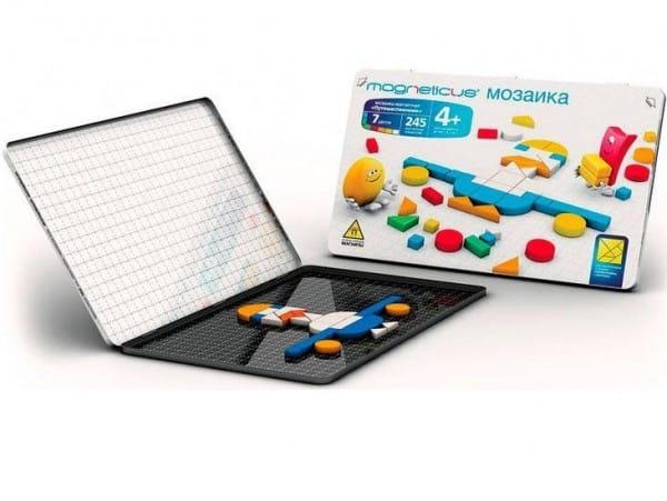 Купить Магнитная мозаика Magneticus Путешественник (245 элементов) в интернет магазине игрушек и детских товаров