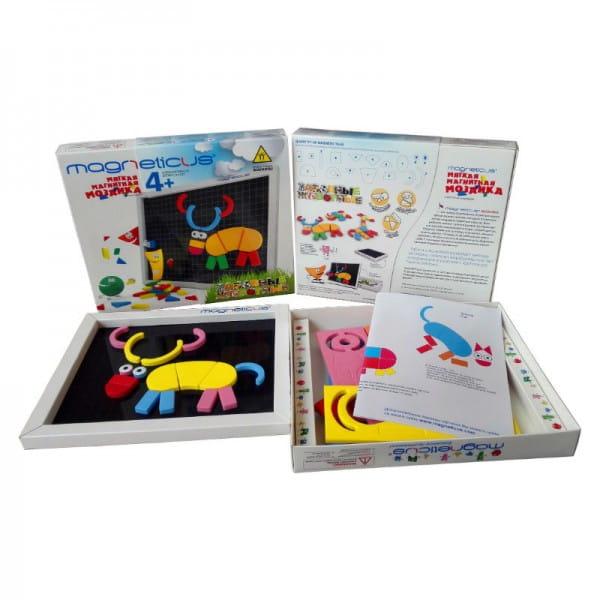 Купить Магнитная мозаика Magneticus Забавные животные в интернет магазине игрушек и детских товаров