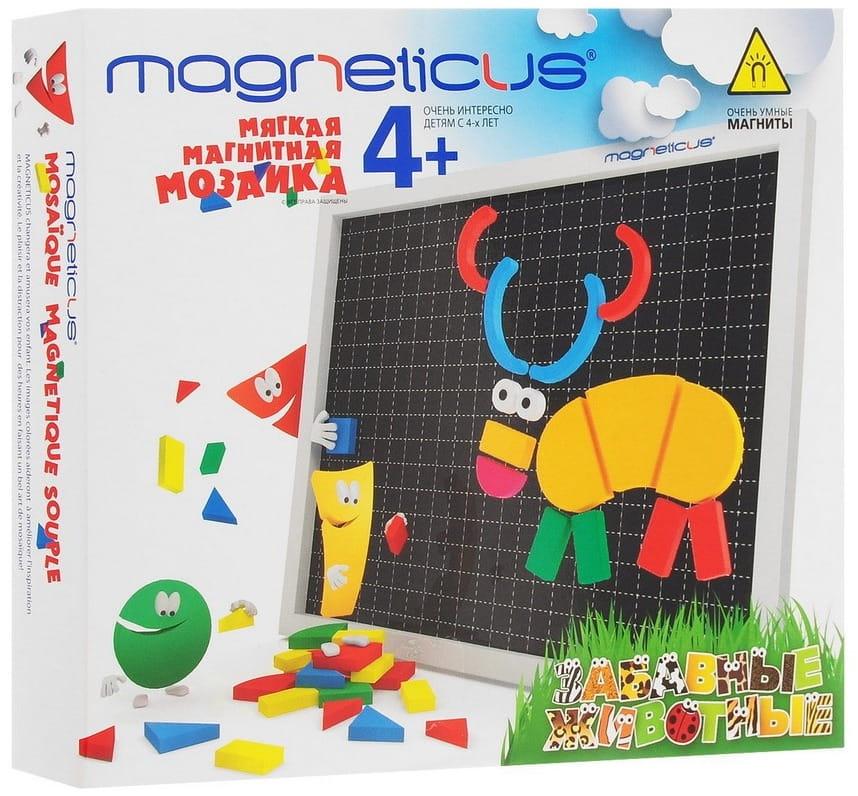 Магнитная мозаика MAGNETICUS Забавные Животные