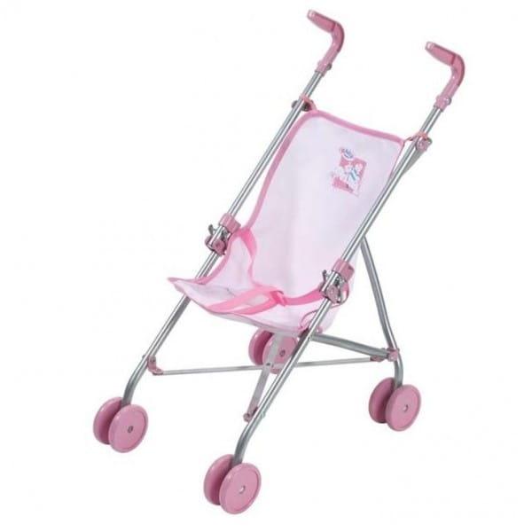 Купить Коляска-трость Baby born розовая (Zapf Creation) в интернет магазине игрушек и детских товаров