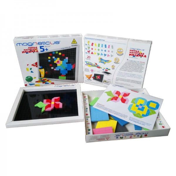 Купить Магнитная мозаика Magneticus 7 цветов в интернет магазине игрушек и детских товаров