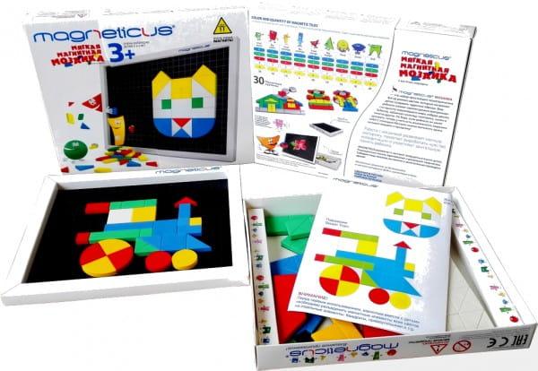 Купить Магнитная мозаика Magneticus 5 цветов в интернет магазине игрушек и детских товаров