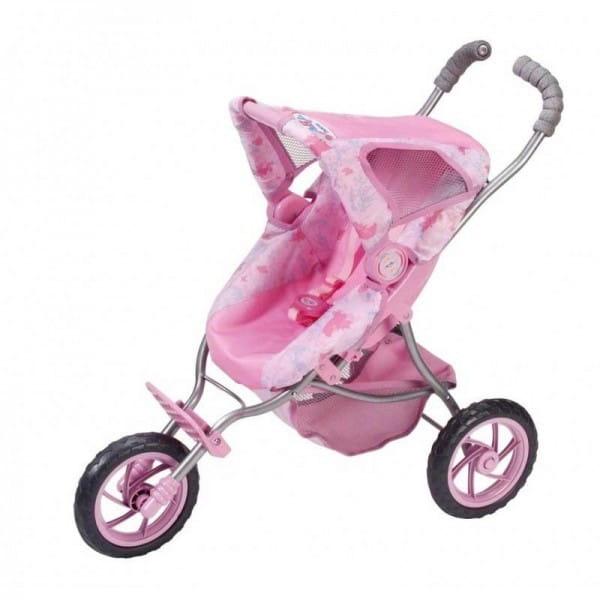 Купить Трехколесная розовая коляска Baby born (Zapf Creation) в интернет магазине игрушек и детских товаров