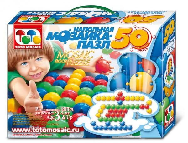 Напольная мозаика-пазл ToysUnion - 50 элементов