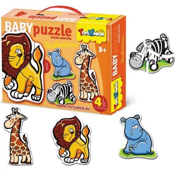 Купить Пазл ToysUnion Животные в интернет магазине игрушек и детских товаров
