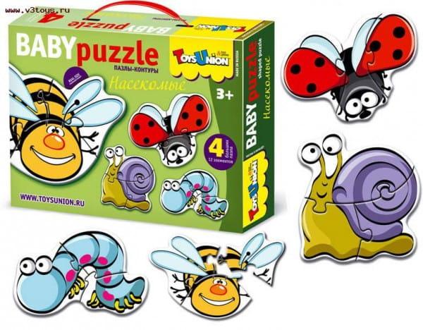 Купить Пазл ToysUnion Насекомые в интернет магазине игрушек и детских товаров