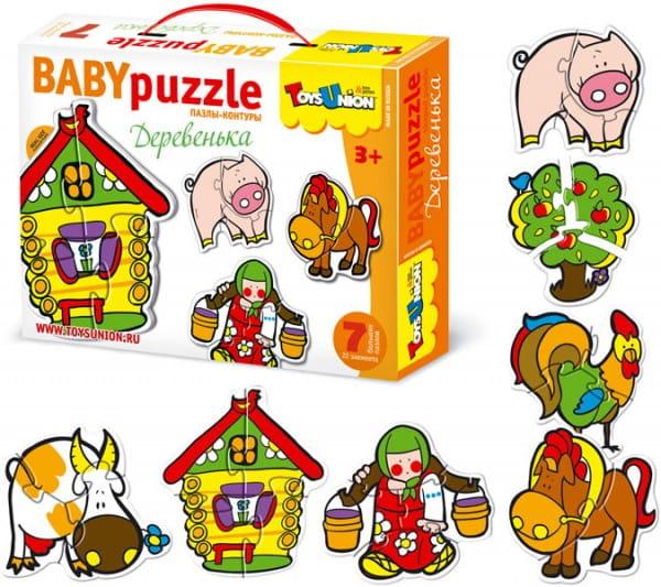 Купить Пазл ToysUnion Деревенька в интернет магазине игрушек и детских товаров