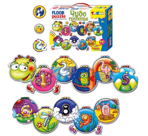 Купить Пазл ToysUnion Чудо гусеница в интернет магазине игрушек и детских товаров