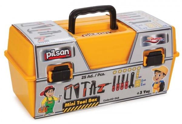 Купить Игровой набор Pilsan Инструменты Mini tool (в ящике) в интернет магазине игрушек и детских товаров