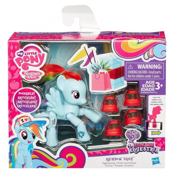 Фигурка My Little Pony с артикуляцией - Рейнбоу Дэш (Hasbro)