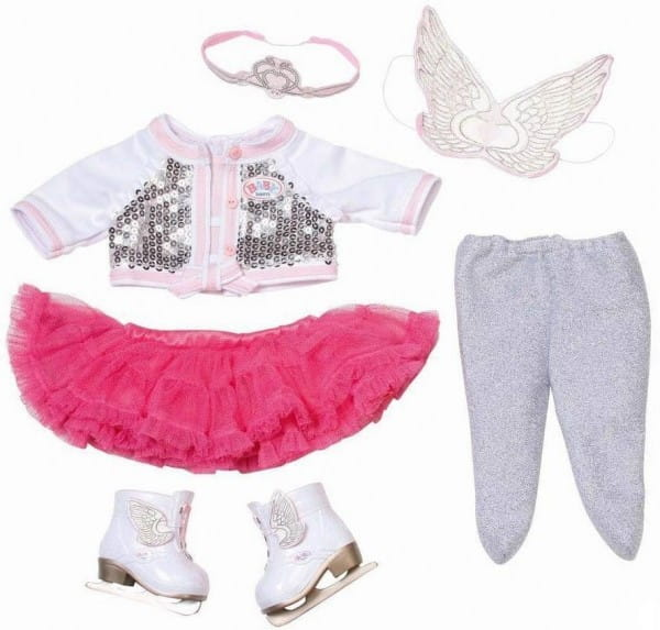Купить Одежда Baby born Фигурное катание (Zapf Creation) в интернет магазине игрушек и детских товаров