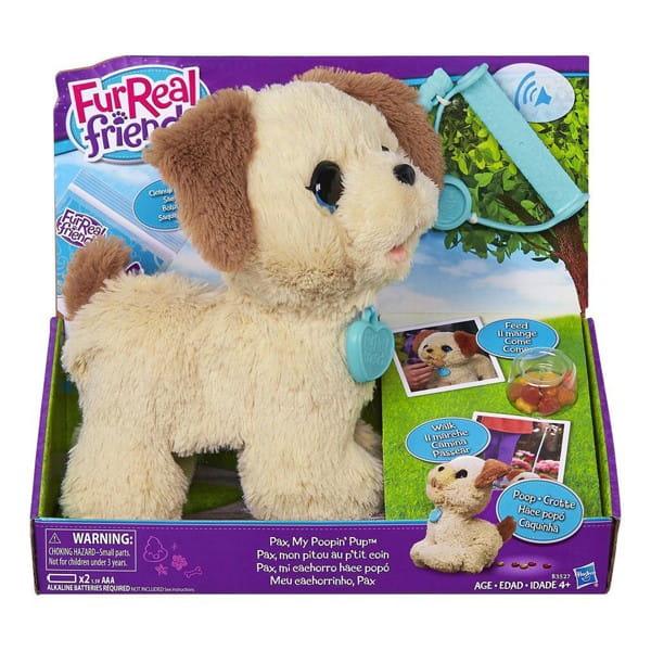 Купить Интерактивная игрушка FurReal Frends Веселый щенок Пакс (Hasbro) в интернет магазине игрушек и детских товаров