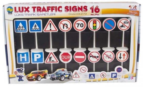 Игровой набор Pilsan 3273plsn Дорожные знаки мини