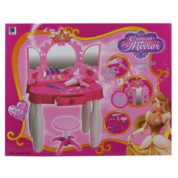 Купить Студия красоты со стульчиком Metr (со звуковыми и световыми эффектами) в интернет магазине игрушек и детских товаров