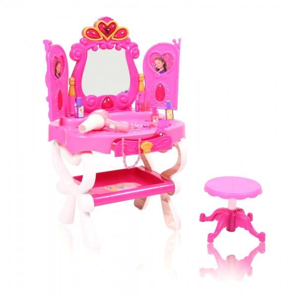 Купить Туалетный столик парикмахера со стульчиком Metr 2015 в интернет магазине игрушек и детских товаров