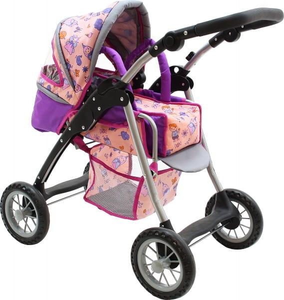 Купить Коляска трансформер Boomggy Boom с конвертом и корзиной в интернет магазине игрушек и детских товаров