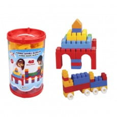 Фото Конструктор Jumbo Magic Blocks - 40 деталей (Pilsan)
