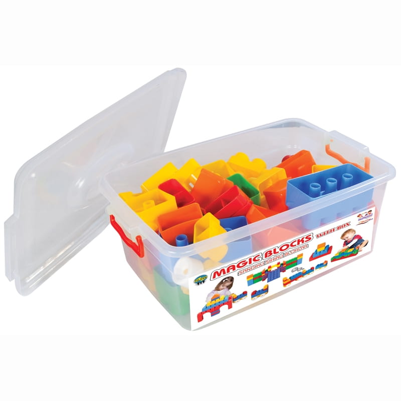 Конструктор Jumbo Magic Blocks - 60 деталей (Pilsan)